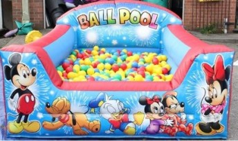 Inflatable Ball pool,softplaycompany.co.uk