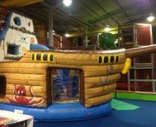 Moving pirate ship2 Size 20 x 16ft £7,000