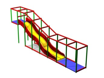 lane wave slide,softplaycompany.co.uk