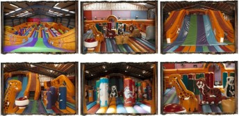 large bouncy castles, bouncy slides , softplaycompany.co.uk