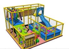 soft soft play area Size 16x16ft